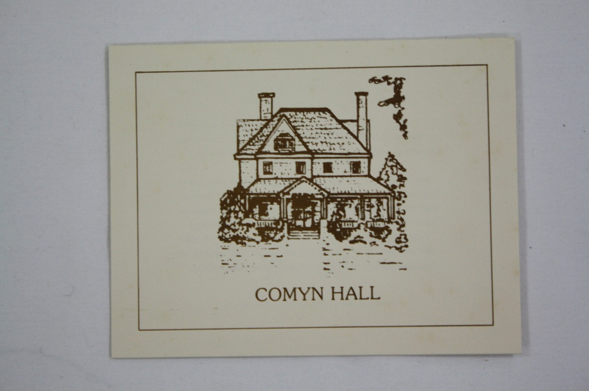 "The Case of the ""Not-So-Common"" Comyn Hall"